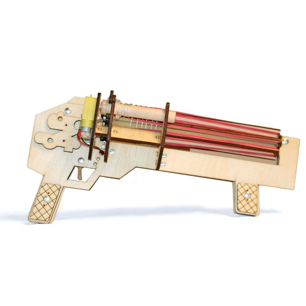 Rubber Band Machine Gun Electric Powered-Hue&Shades