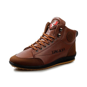 men's-ankle-boots-brown-color