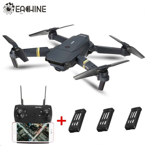 Eachine E58  RC Quadcopter RTF Drone with 720p HD Camera 3 batteries