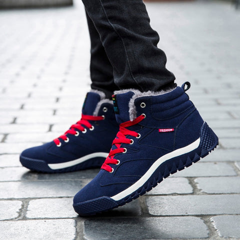 BLOOMNEXT  Walking Boots Male Sneakers