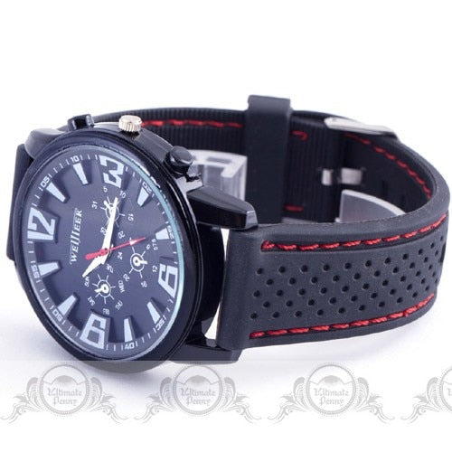 ASJ Pilot Aviator Quartz Air Watches-Hue&Shades