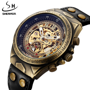 S075 Automatic Kinetic Skeleton Watches for Men