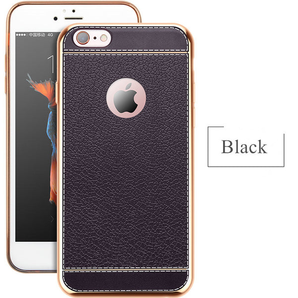DREAMYSOW Luxury Ultra Thin PU Leather Pattern Phone - hue and shades