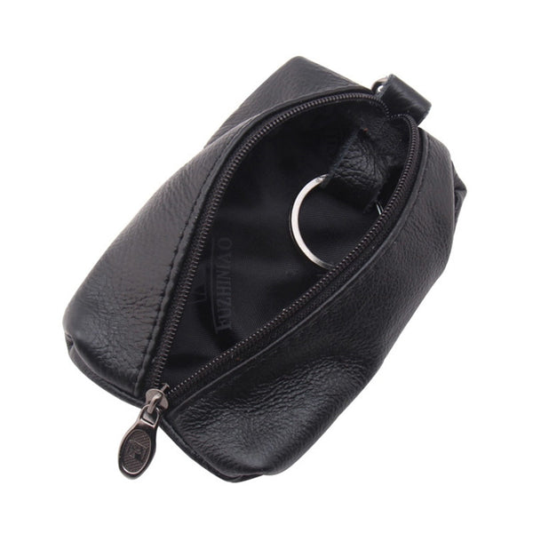 Luxury Leather Key Chain Holder Organizer Wallet Keys