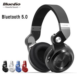 Bluedio T2S bluetooth headphones with microphone [ wireless headset bluetooth ]
