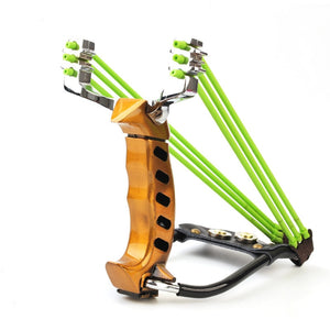 OLOEY powerful Aluminium Alloy Slingshot Fishing Catapult