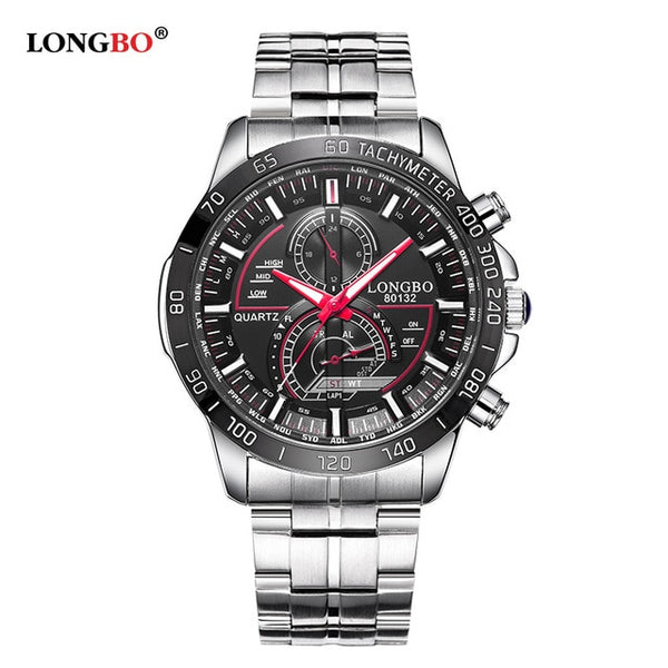 LONGBO Quartz Pilot Aviator Watches