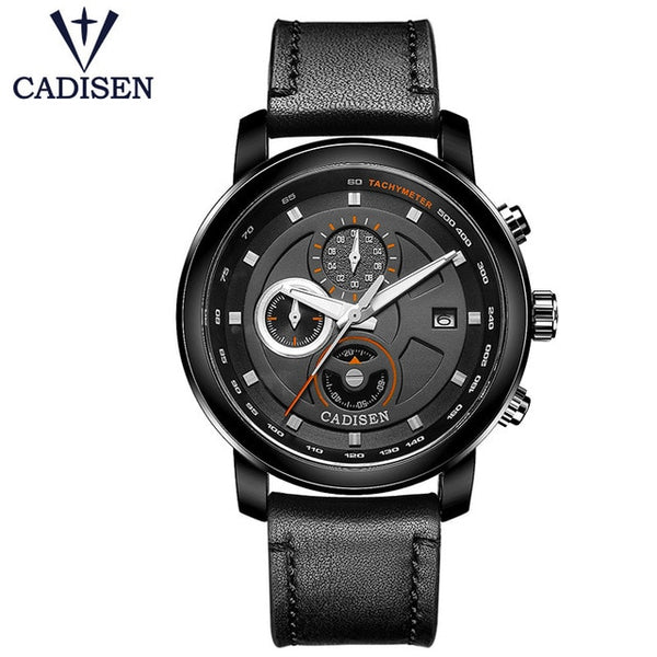 CADISEN Air Watches leather strap Pilot watches-Hue&Shades