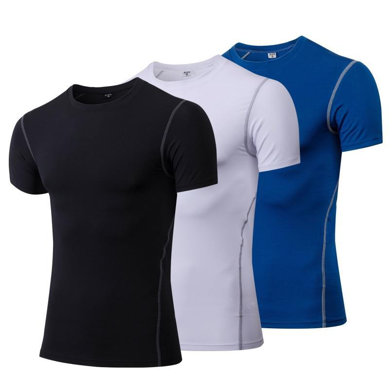 Men's Quick Dry Tapered Gym T-Shirt