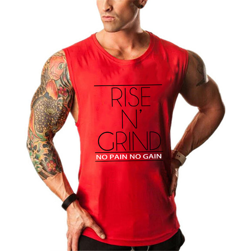 Men's Rise N' Grind Sleeveless T-shirt