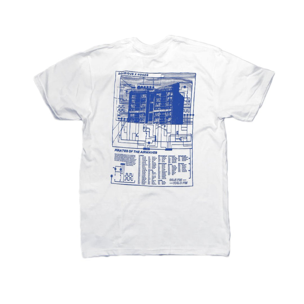 Noods x Zoltan Doubious: Pirate Radio T-shirt