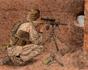 0317 Scout Sniper - 300 Infantry Series
