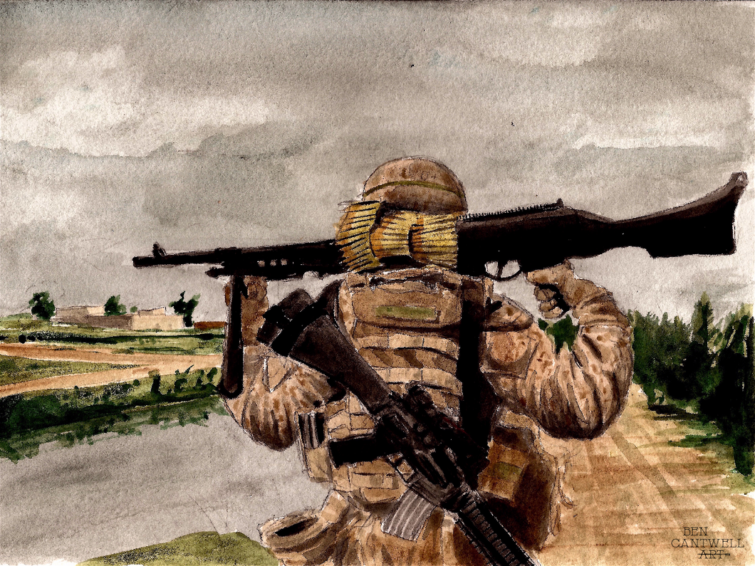0331 Machinegunner - 300 Infantry Series