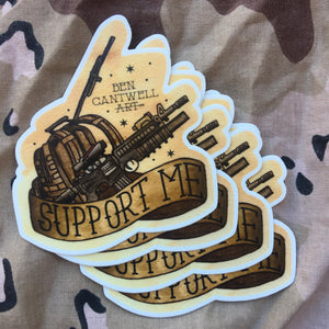 1st Deployment Sticker Pack
