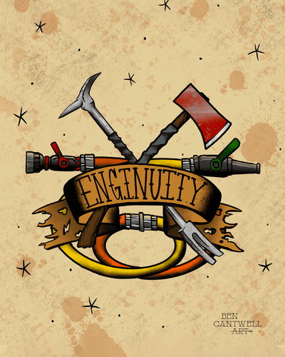 Enginuity (Irons :Axe and Halligan)