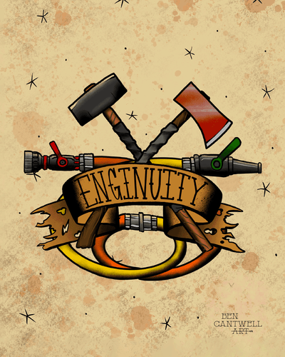 Enginuity (Axe and Sledge Hammer)