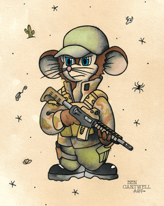 Fievel the Private Military Contractor