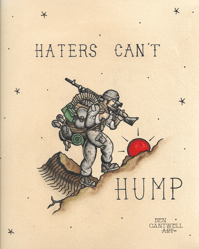 Haters Can't Hump
