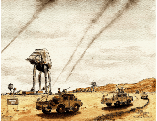 Invading Tatooine