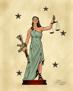 MARSOC Lady Justice - Artwork Print