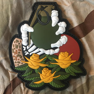 Skeleton Hand Grenade Patch