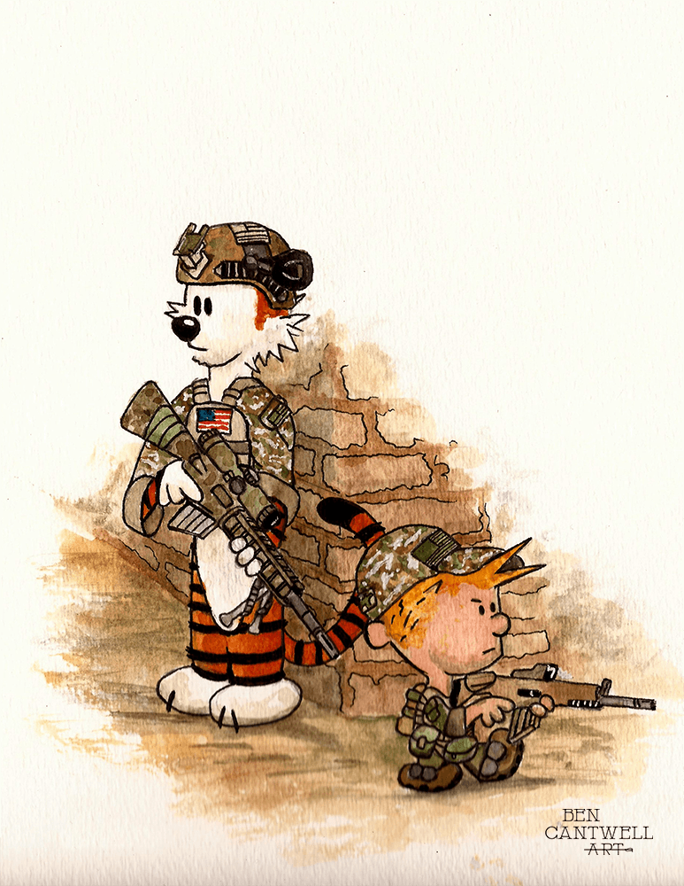 Special Forces Calvin And Hobbes