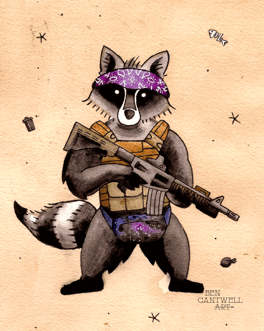 Tactical Racoon