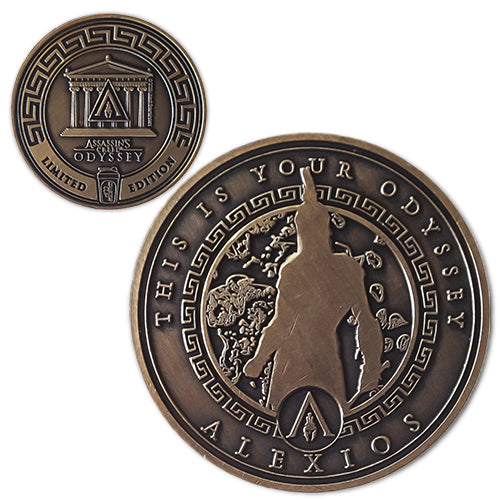 Alexios<br>1.25 Inch Collector Coin - Assassin's Creed Odyssey
