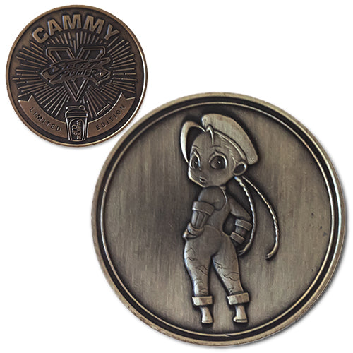 Cammy<br>1.25 Inch Collector Coin - Dropping Soon