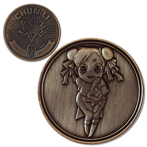 Chun Li<br>1.25 Inch Collector Coin