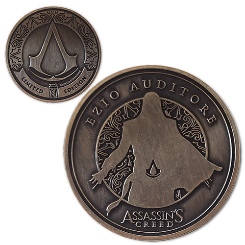 Ezio<br>1.25 Inch Collector Coin - Assassin's Creed