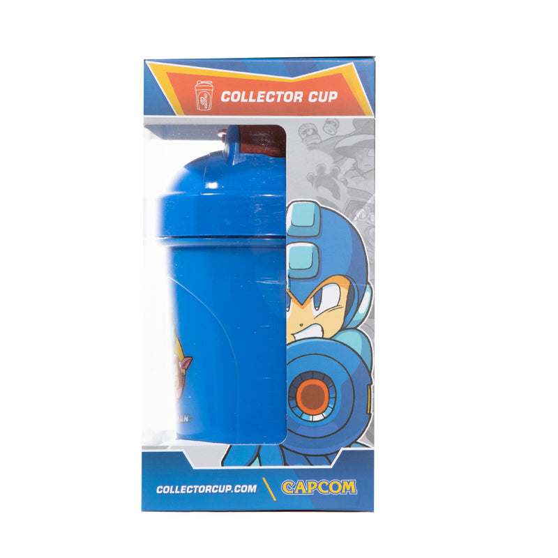 Mega Man Collector Cup + Collector Coin <br> Capcom Collection - 24oz