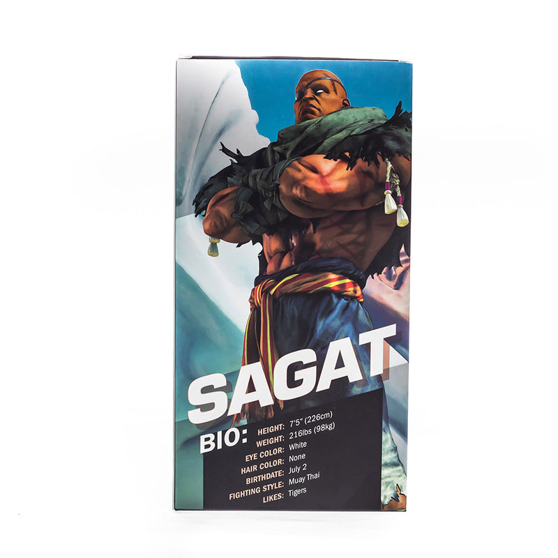 Sagat Collector Cup + Collector Coin <br> Street Fighter V Edition - 24oz