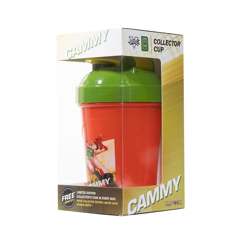 Cammy Collector Cup + Collector Coin <br> Street Fighter V Edition - 24oz