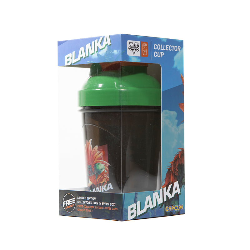 Blanka Collector Cup + Collector Coin <br> Street Fighter V Edition - 24oz