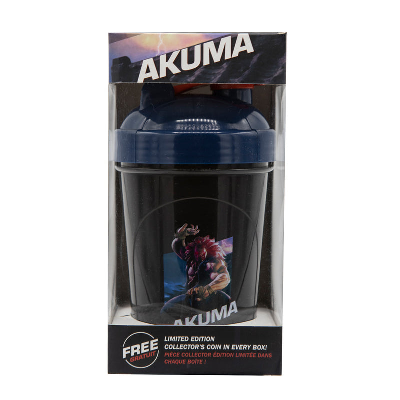 Akuma Collector Cup + Collector Coin <br> Street Fighter V Edition - 24oz