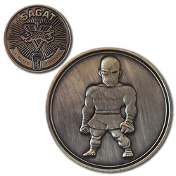 Sagat<br>1.25 Inch Collector Coin
