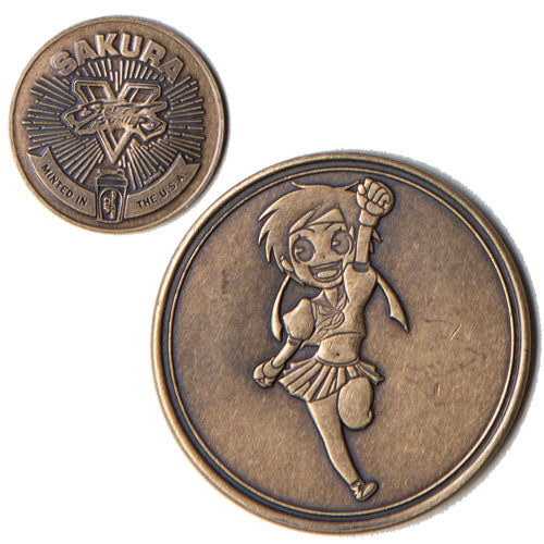Sakura<br>1.25 Inch Collector Coin