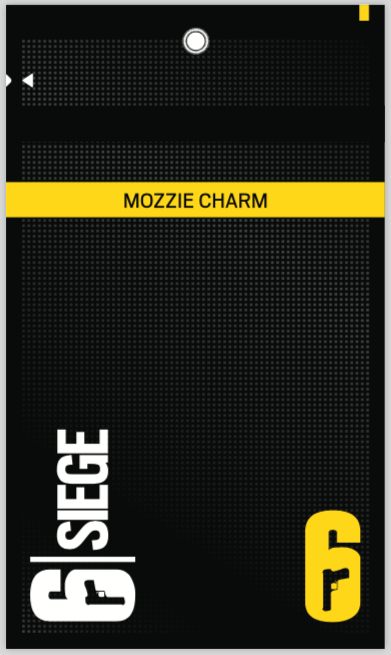 Mozzie Operator Charm - **ALL PROCEEDS TO THE BUSHFIRE RELIEF EFFORT**