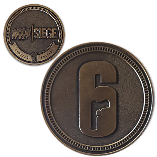 6-SIEGE<br>1.25 Inch Collector Coin