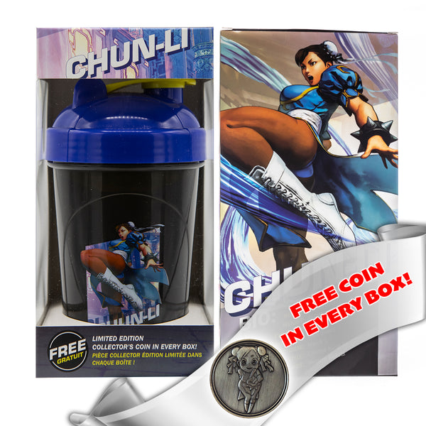 Chun-Li Collector Cup + Collector Coin <br> Street Fighter V Edition - 24oz