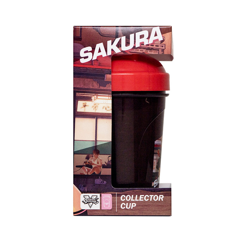Sakura Collector Cup + Collector Coin<br> Street Fighter V Edition - 24oz