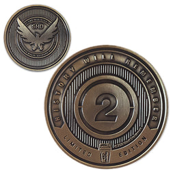 Division 2<br>1.25 Inch Collector Coin