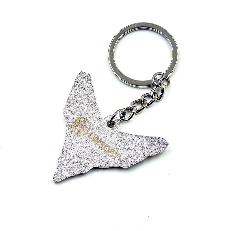 Ghost Recon Breakpoint: Wolves Sigil Keychain - Silver Edged