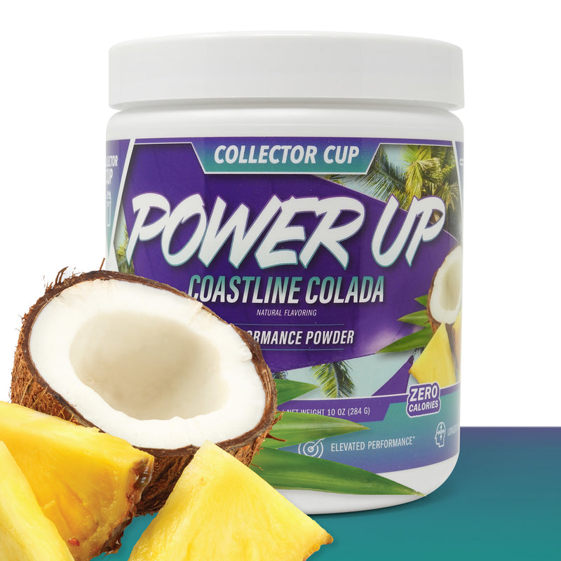 **HOT BUNDLE DEAL** - POWER UP PAC-MAN'S PUNCH ENERGY POWDER + COASTLINE COLADA ENERGY POWDER