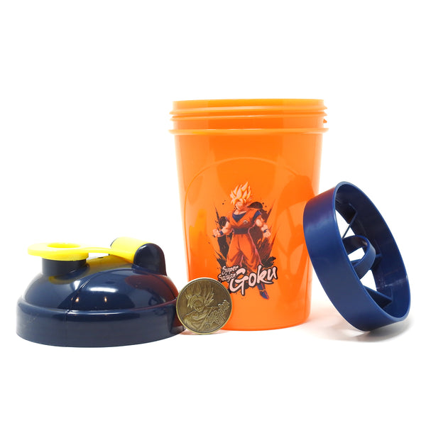 Dragon Ball FighterZ - Super Saiyan Goku Collector Cup + Collector Coin - TOEI Collection - 24oz