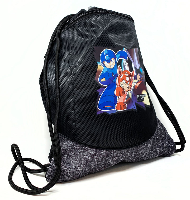 Mega Man Drawstring Cinch Bag