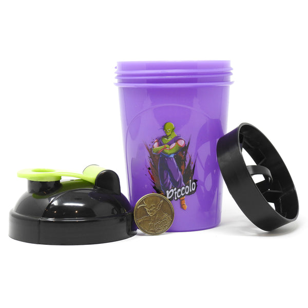 DRAGON BALL FIGHTERZ - PICCOLO COLLECTOR CUP + COLLECTOR COIN - TOEI COLLECTION - 24OZ