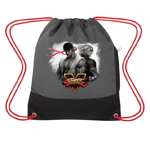 Street Fighter V Drawstring Bag
