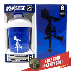 Sledge - 6-SIEGE COLLECTOR CUP + COLLECTOR COIN - 24oz